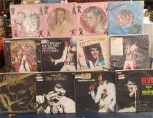 Elvis Presley Promo Albums and Picture discs