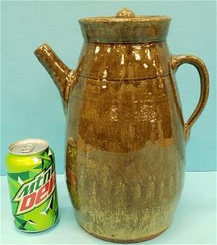 Shelby West Coffee Pot Southern Pottery
