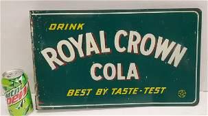 Green Drink Royal Crown Cola Flange Sign