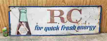 RC Royal Crown Cola Tin Sign