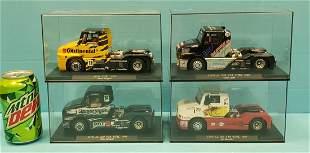 Lot of 4 SISU Fly GB Track Trucks