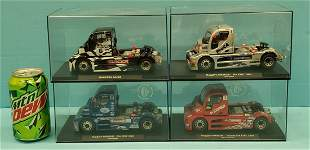 Lot of 4 Buggyra Fly GB Track Trucks