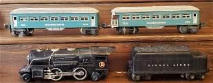 Lionel train 259, 2666w, 2630, & 2631