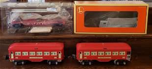 Lionel 600, 601, & 6264 Lumber car