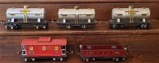 Lionel 652, 654, 655, 657, & 804