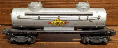 Scarce Lionel Sunoco Tank Car 2465 w/ Center Decal