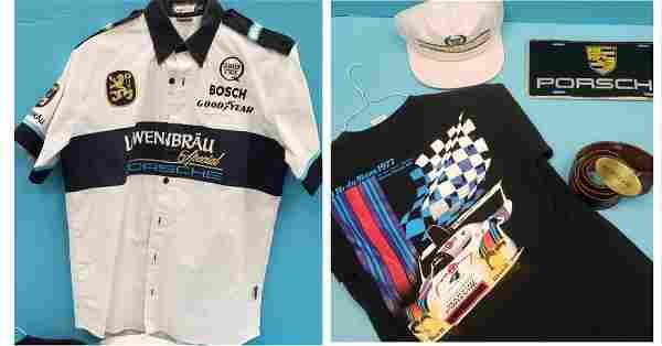 1970's Porsche Holbert Racing Lowenbrau Team Shirt