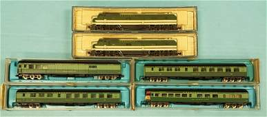 Lot of 6 Life Like & Rivarossi Southern Train Set