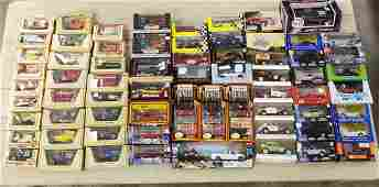 Lot of 67 NOS Die Cast Cars and Trucks