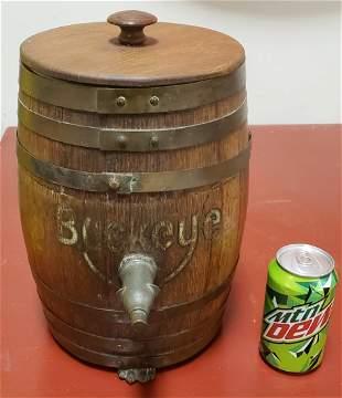 Buckeye Root Beer Barrel Syrup Dispenser Soda Fountain