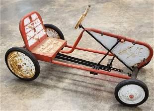 Scat Car Pedal Car