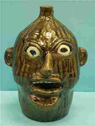 Nathaniel Hewell Southern Folk Pottery Stoneware Jug