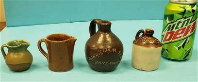 4 Pieces of Gordy Pottery