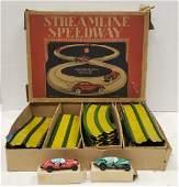 Louis Marx Streamline Speedway Race Set