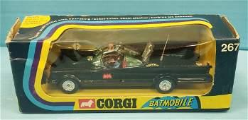 NOS Corgi Rocket Firing Batmobile 267