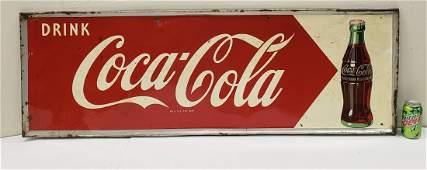 Drink Coca Cola tin sign