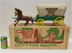 Marx Official Wagon Train With Box