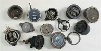 Early Lot of AC Stewart Warner & Others Speedometers