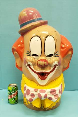 1974 Clown Head Balloon Inflator Hollywood Calif.