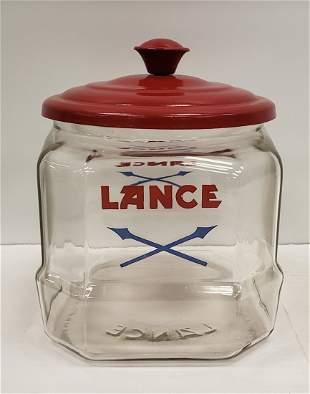 Glass Lance Jar
