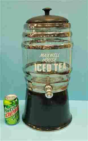 Maxwell House Ice Tea Dispenser