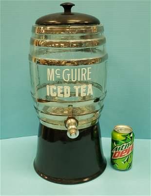McGuire Iced Tea Dispenser