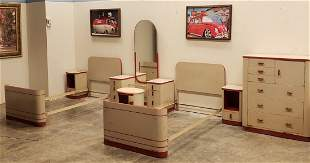 Norman Bel Geddes Bedroom Set by Simmons Furniture