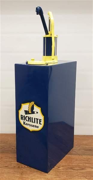 Restored Richlite Kerosene Lubester