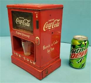 Coca Cola Marx Toy Dispenser Bank