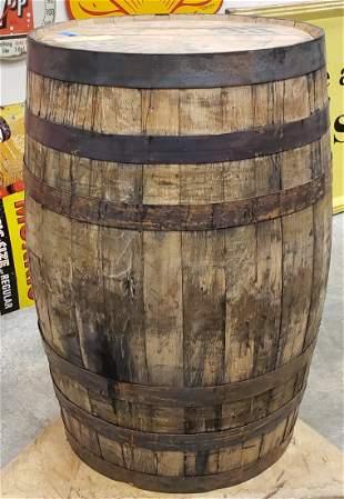 Original Jack Daniels Whiskey Barrel