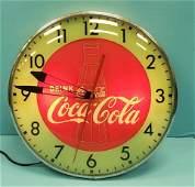 Drink Coca Cola Pam Light up Clock