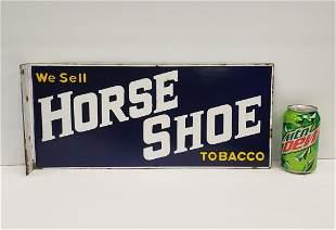 Horse Shoe Tobacco Flange Sign