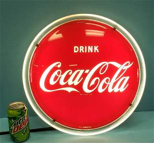 Drink Coca Coca Hanging Halo Light