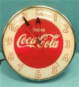 Drink Coca Cola Pam Clock