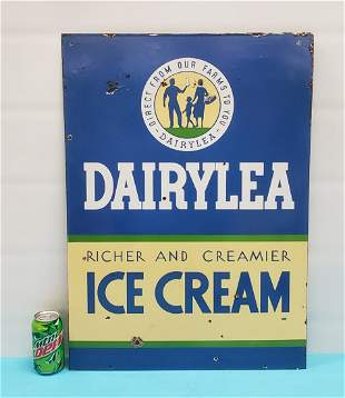 Dairylea Ice Cream Porcelain sign