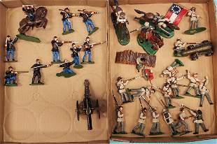 LeMan's Civil War soldiers Union & Confederate
