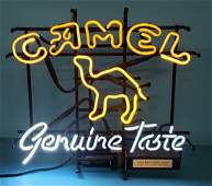 Camel Cigarettes genuine taste Neon Sign