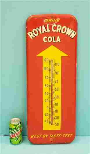 Drink Royal Crown Cola Thermometer