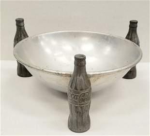 1930's Coca Cola Pretzel Bowl