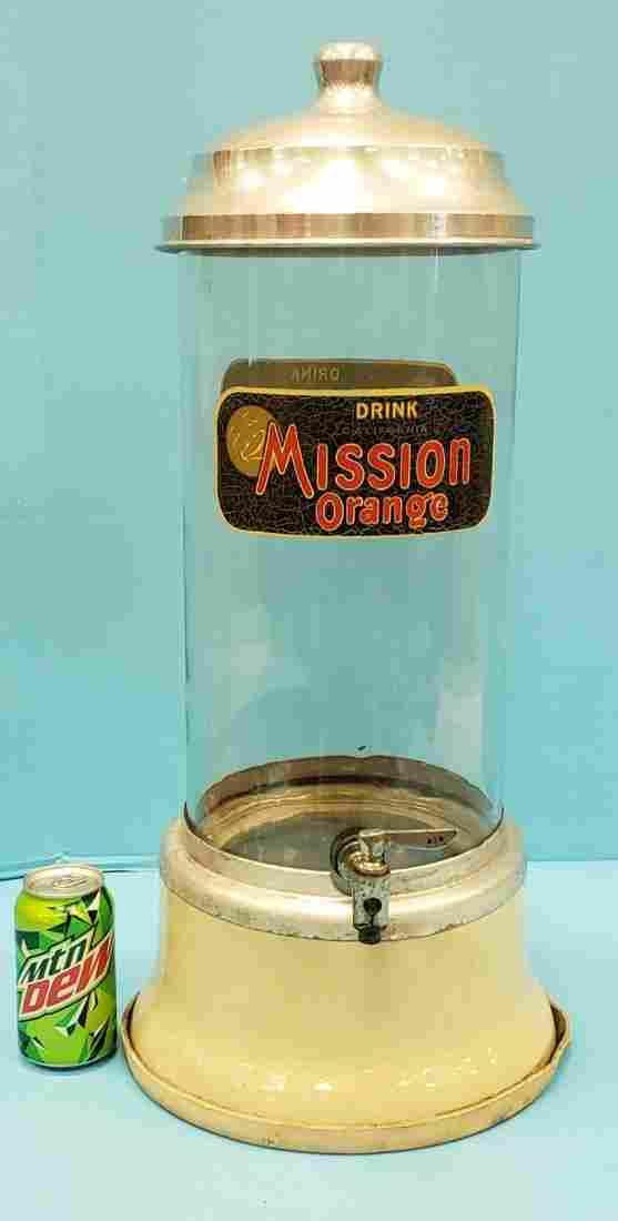 Drink Mission Orange Fountain Dispenser