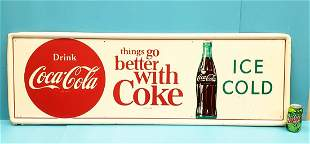 things go better with Coke Button Sign