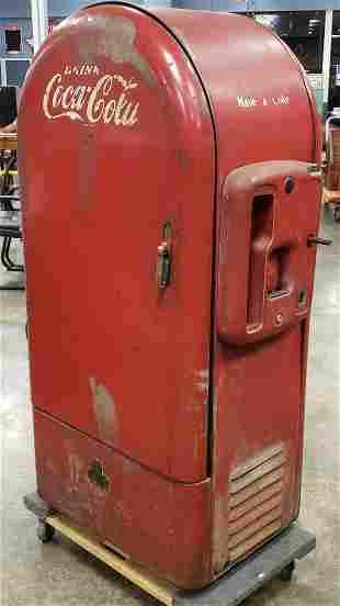 Jacobs Coca Cola Machine (Refrigerator)