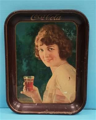 1924 Coca Cola Tray