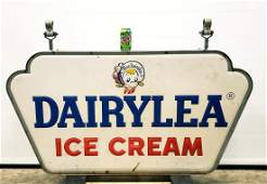 Dairylea Ice Cream Double Sided Hanging Sign
