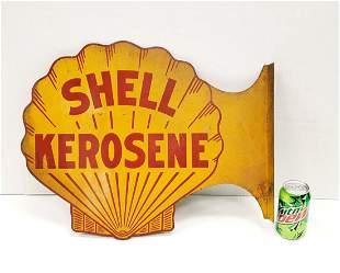 Shell Kerosene Flange Sign