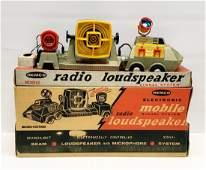1955 Remco Mobile Radio Loudspeaker in Box