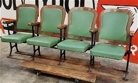 Vintage Movie Theater Seats