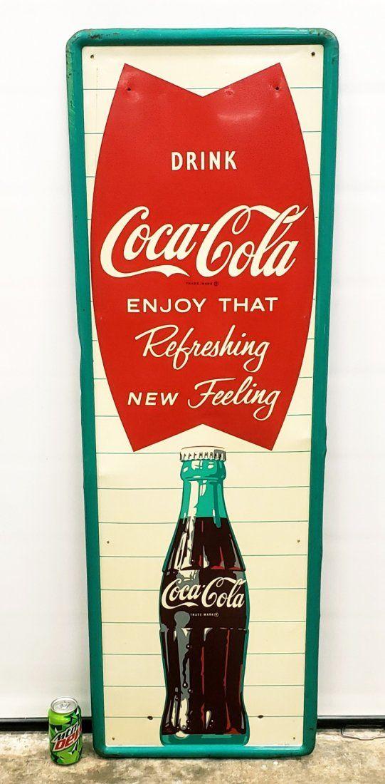 Drink Coca Cola Vertical Sign