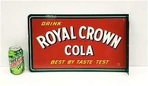 Drink Royal Crown Cola Flange Sign