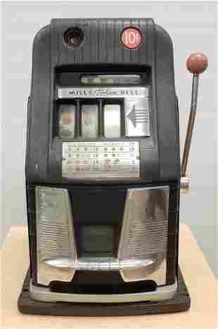Mills Token Bell Slot Machine Ten Cents